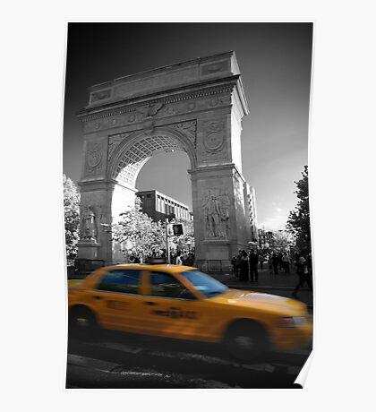 Washington Square Taxi Poster