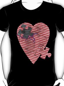 saw heart T-Shirt
