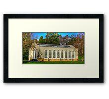 City park  Launceston Conservotry Framed Print