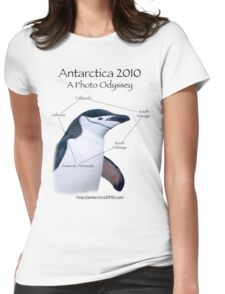 Antarctica 2010: A Photo Odyssey Womens Fitted T-Shirt