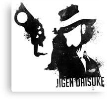 Jigen Daisuke - Lupin IIIrd Canvas Print
