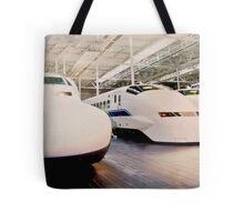 Bullet Trains Tote Bag