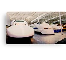 Bullet Trains Canvas Print