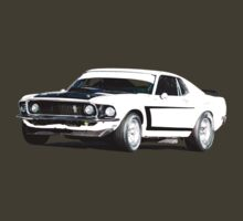 1969 Boss 302 - Mustang Fastback by inmotionphotog