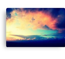 Inverted Clouds 2 Canvas Print