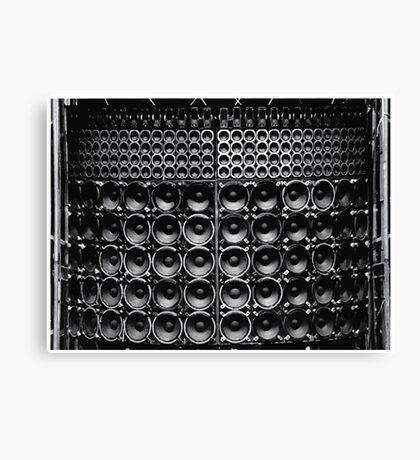 Wall of Sound Canvas Print