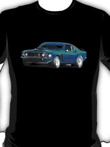1969 Boss 302 - Mustang Fastback T-Shirt