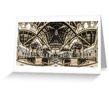 St. Clare of Assisi church 3 Greeting Card