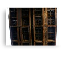 trained structure Canvas Print