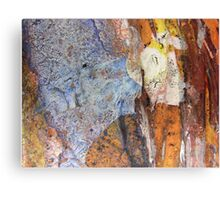 Cling film close up #1 Canvas Print