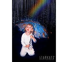 ~SINGING IN THE RAIN~ Photographic Print