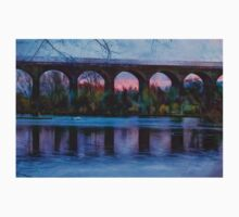 Viaduct at Reddish Vale Country Park Baby Tee