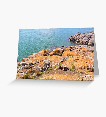 The Bluff Greeting Card