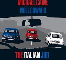 The Italian Job - Movie Poster by 547Design