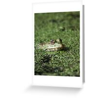 Swamp Goblin Greeting Card