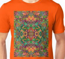 Fractal Floral Abstract Unisex T-Shirt