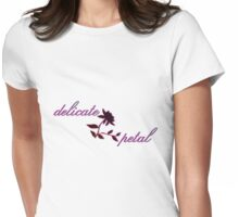 delicate petal Womens Fitted T-Shirt