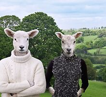 Sheep People by Andrew Bret Wallis