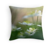 14.5.2010: Wood Anemone Dream III Throw Pillow