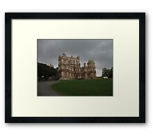 One Stormy Day Framed Print