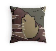The Old Journals Throw Pillow