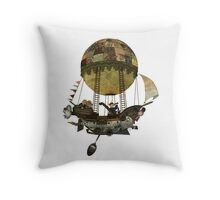 A tour in the Clouds Throw Pillow