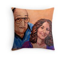 Commissioned Work Throw Pillow