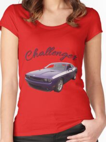Challenger Women's Fitted Scoop T-Shirt
