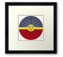 Spider-Woman Ball Framed Print