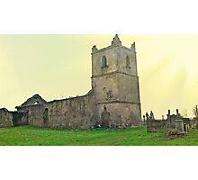 The Abbey at Glanworth Photographic Print