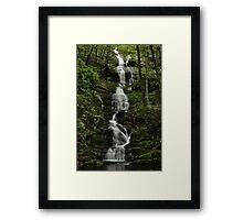 Buttermilk Falls - Tillman Ravine Framed Print