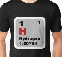 Periodic Table of Elements: No. 1 hydrogen Unisex T-Shirt