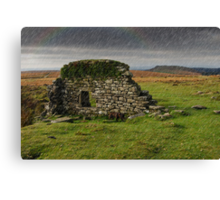 Dartmoor Cathedral in the Rain Canvas Print