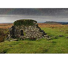 Dartmoor Cathedral in the Rain Photographic Print