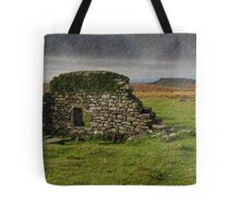 Dartmoor Cathedral in the Rain Tote Bag