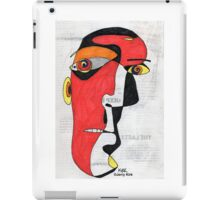 'A Man in Search of Answers' iPad Case/Skin