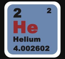 Periodic Table of Elements: No. 2 helium by walterericsy