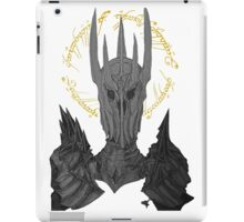 Sauron Black Speech iPad Case/Skin