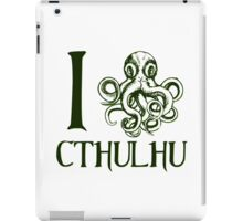 I Squid Cthulhu iPad Case/Skin