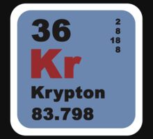 Periodic Table of Elements: No. 36 Krypton by walterericsy