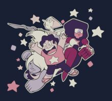 Steven Universe - Gem Warriors! One Piece - Short Sleeve