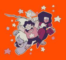 Steven Universe - Gem Warriors! Kids Tee
