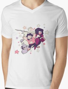Steven Universe - Gem Warriors! Mens V-Neck T-Shirt