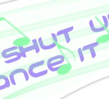 Meredith Cristina Dance it out Sticker