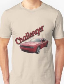 Red Challenger Unisex T-Shirt