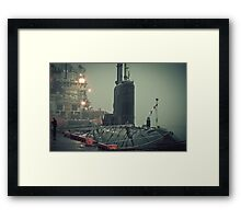 20,000 Leagues Under The Sea Framed Print