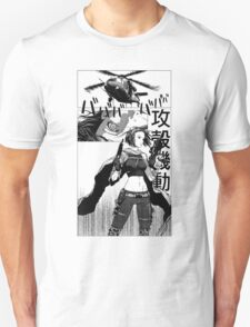 Ghost in the shell manga T-Shirt