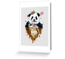 Free Hugs Panda Greeting Card
