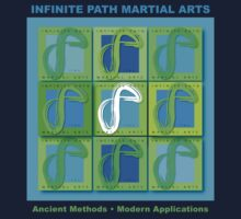 Infinite Path Martial Arts - Logo Panel Kids Clothes