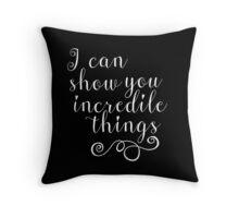 Show you T Throw Pillow